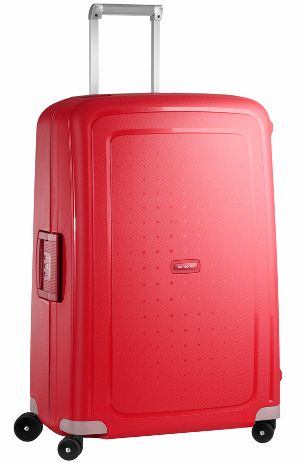 Samsonite S'Cure Spinner 75 Crimson Red-0