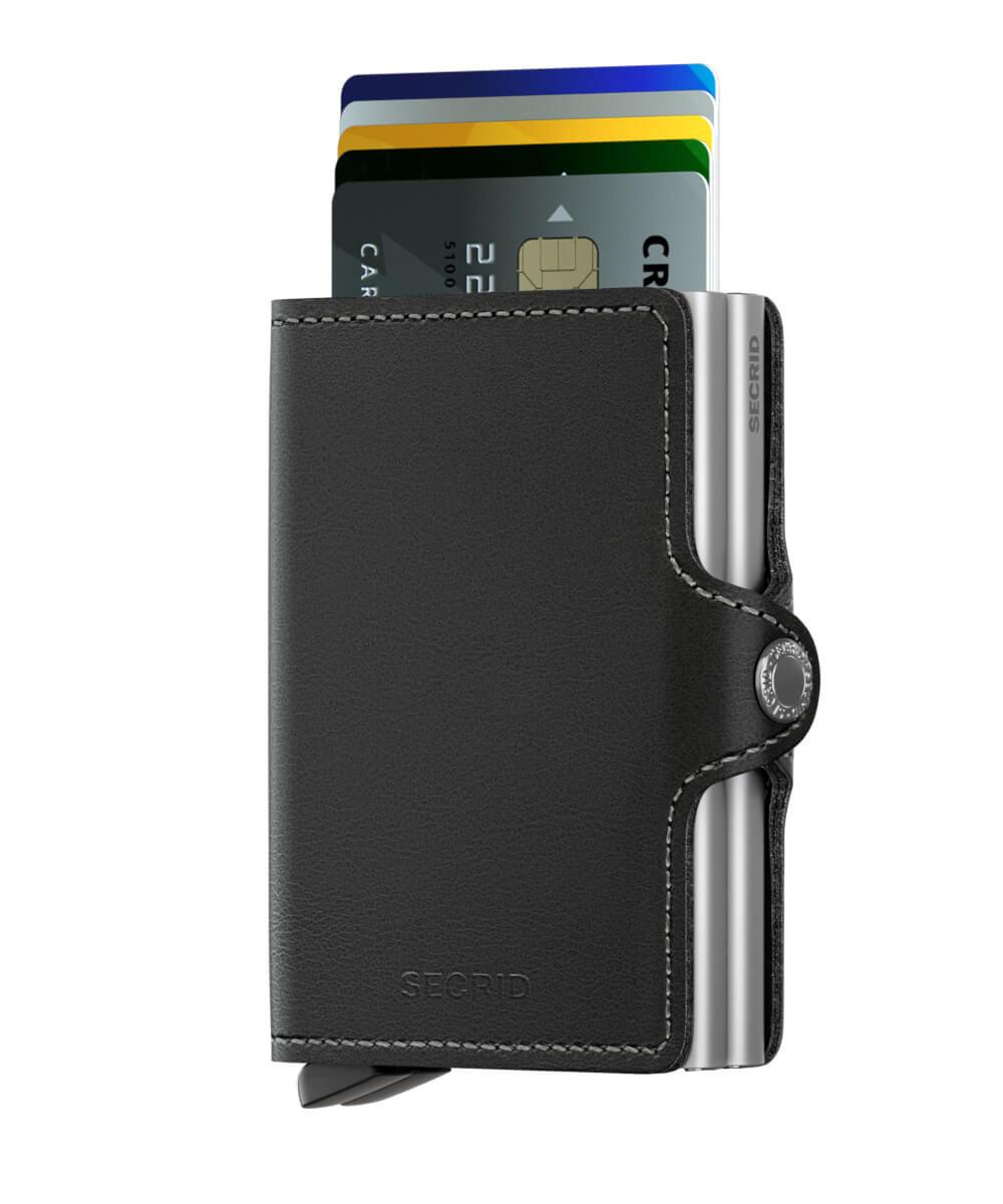 5c5f1fa8819 Secrid Twin Wallet Portemonnee Black   Online Kopen
