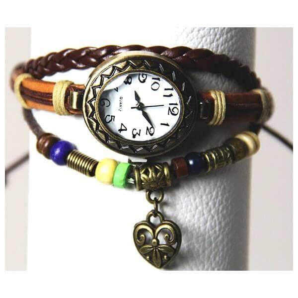 Medley Horloge Bruin 342011-0