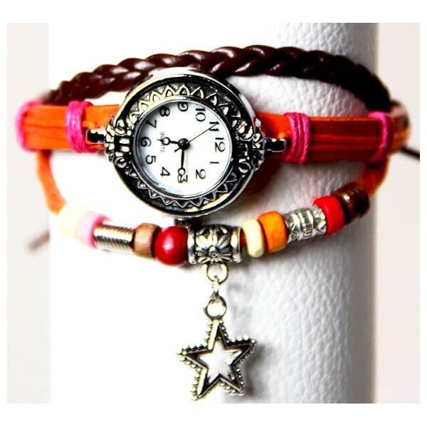 Medley Horloge Oranje 342003-0
