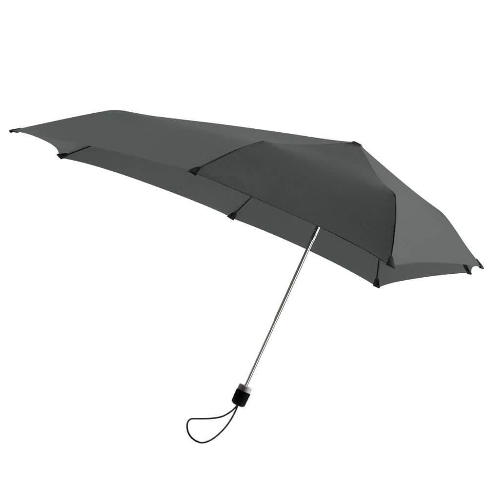 Senz Mini Stormparaplu Fat Grey-0