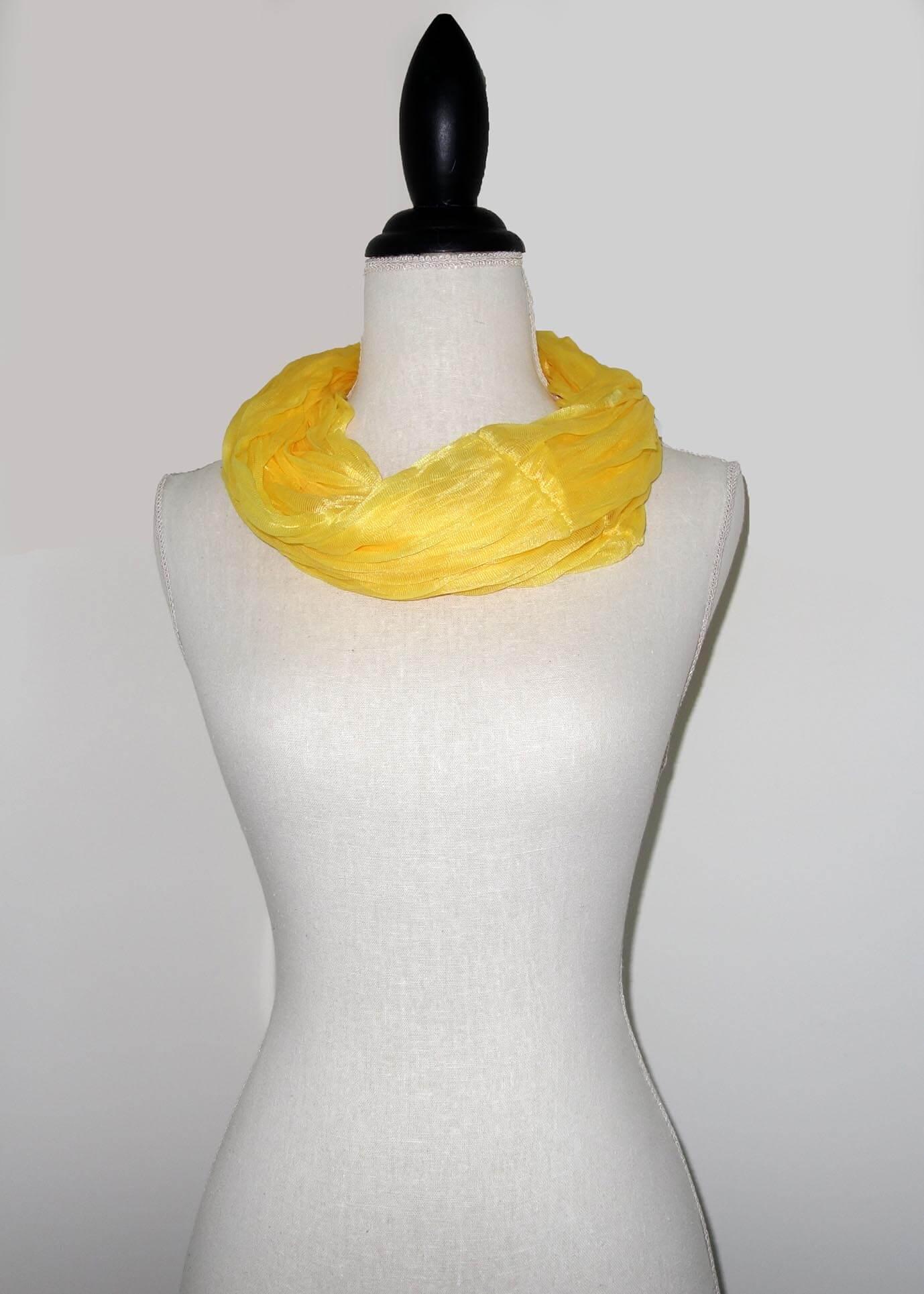Gele Effen Colsjaal -0