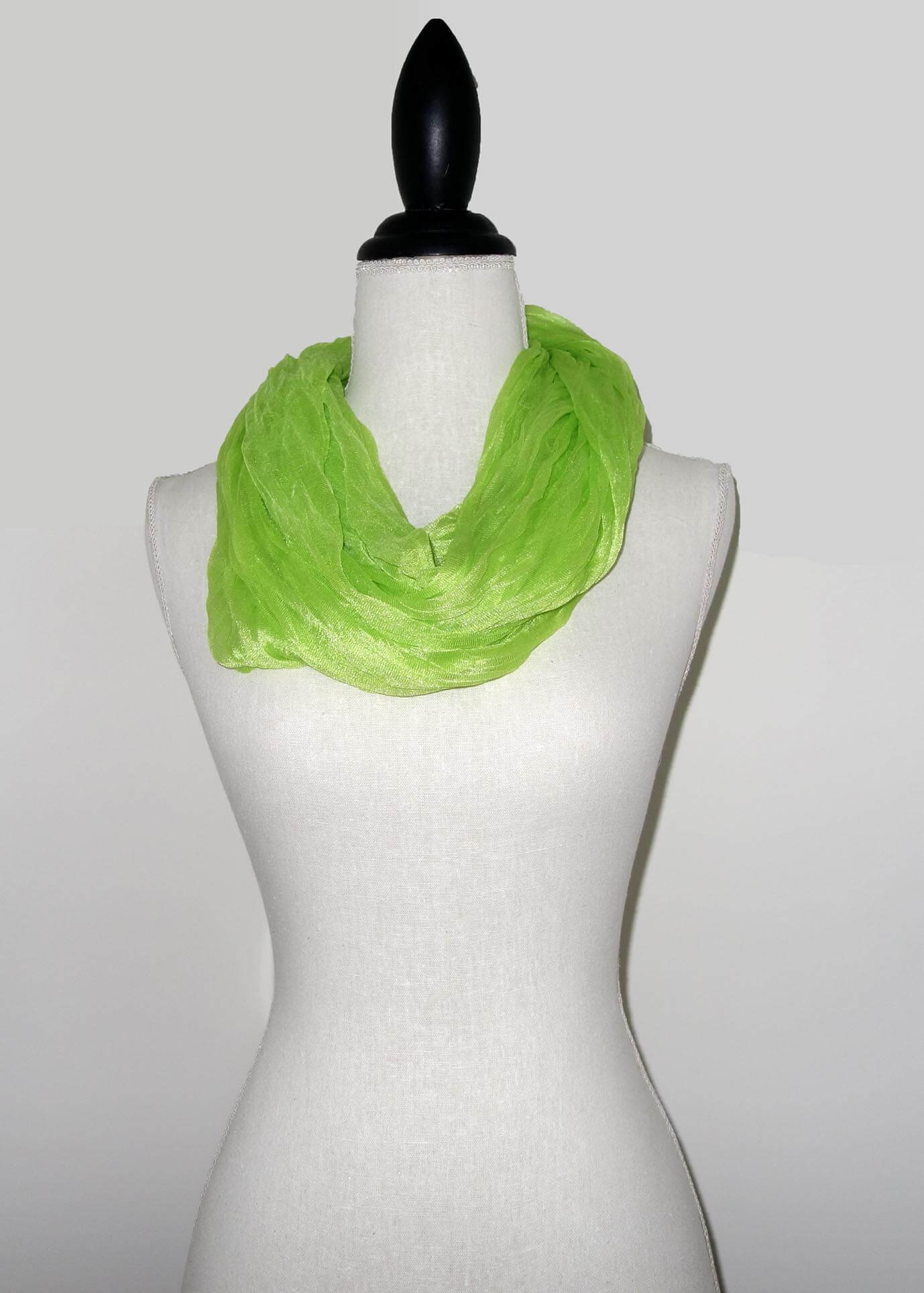 Lime Groene Effen Colsjaal -0