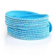 Just Crystals Armband 4-AB Licht Blauw