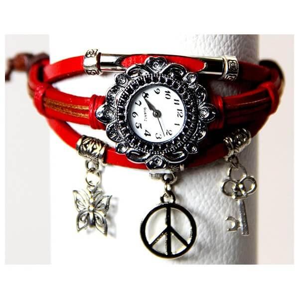 Medley Horloge Rood 342010-0