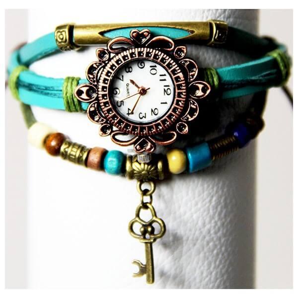 Medley Horloge Zeegroen/Turkoois 342008-0