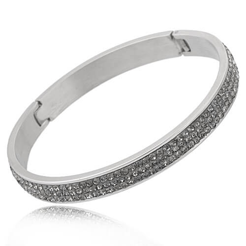 Just Crystals Edelstaal Armband 28-AB Diamond-0