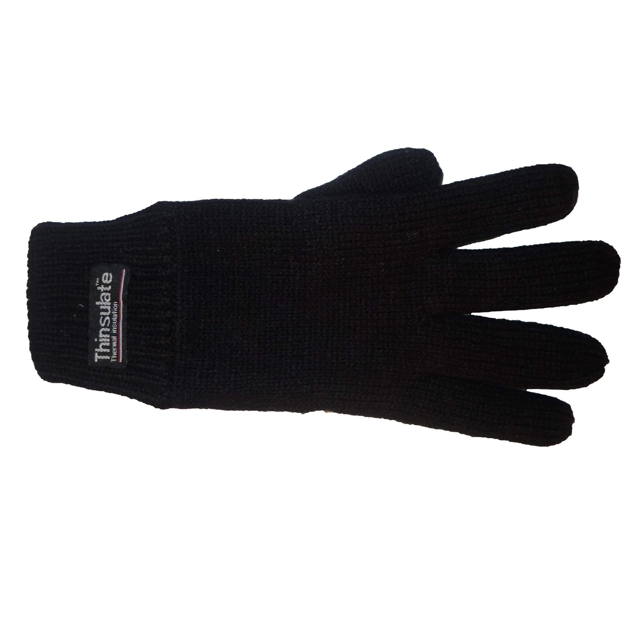 Thinsulate Handschoenen Zwart S/M-0