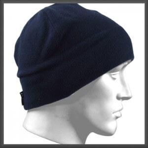 Donker Blauwe Micro Fleece Muts XTM-0