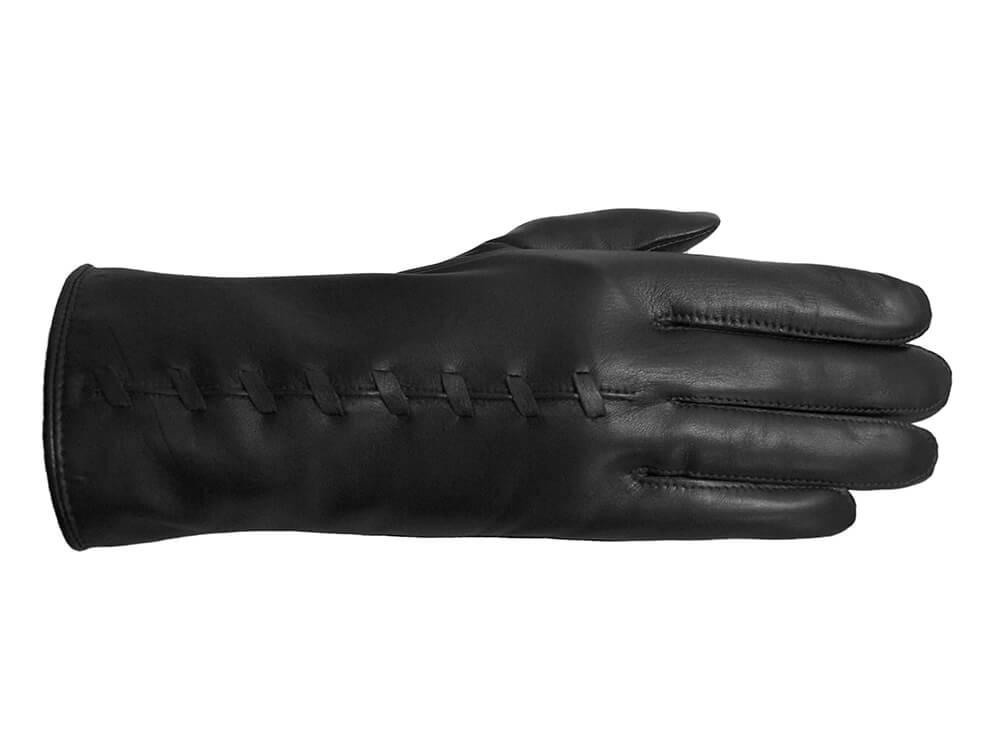 Laimböck Dames Handschoenen Lezuza Zwart Maat 7.5 -9594