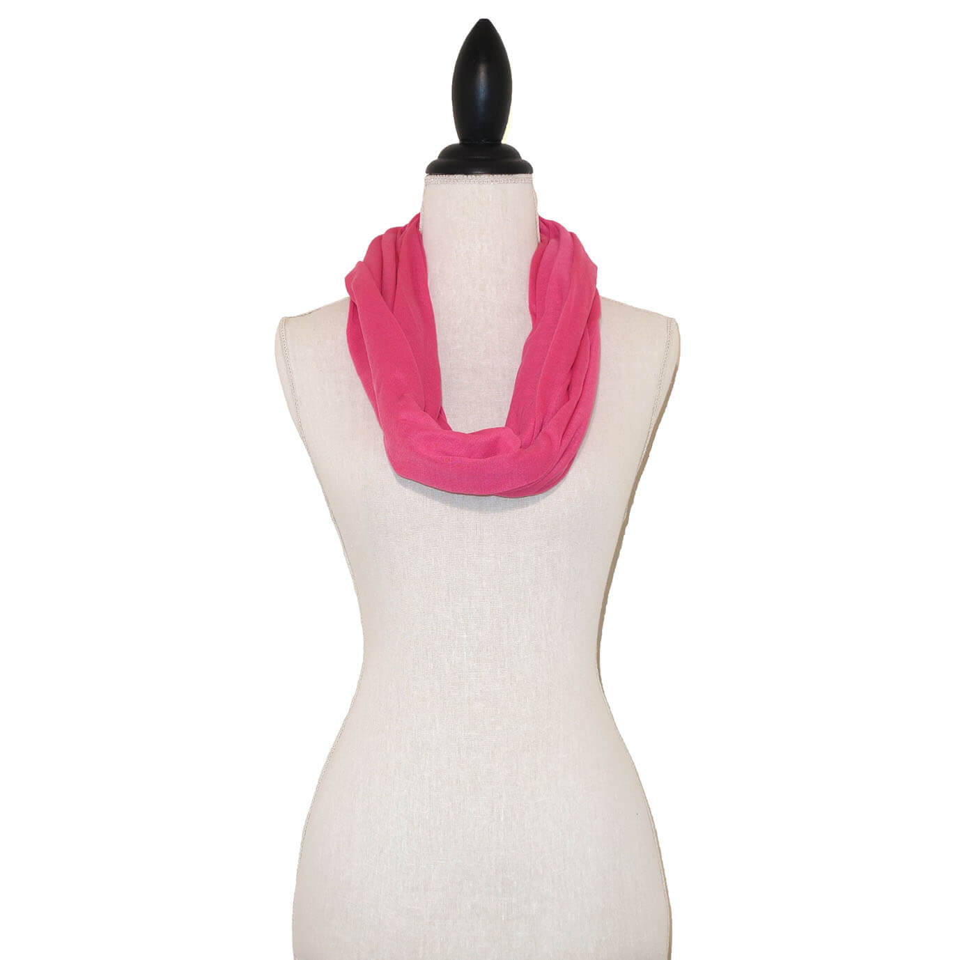 Roze Tricot Colsjaal-0