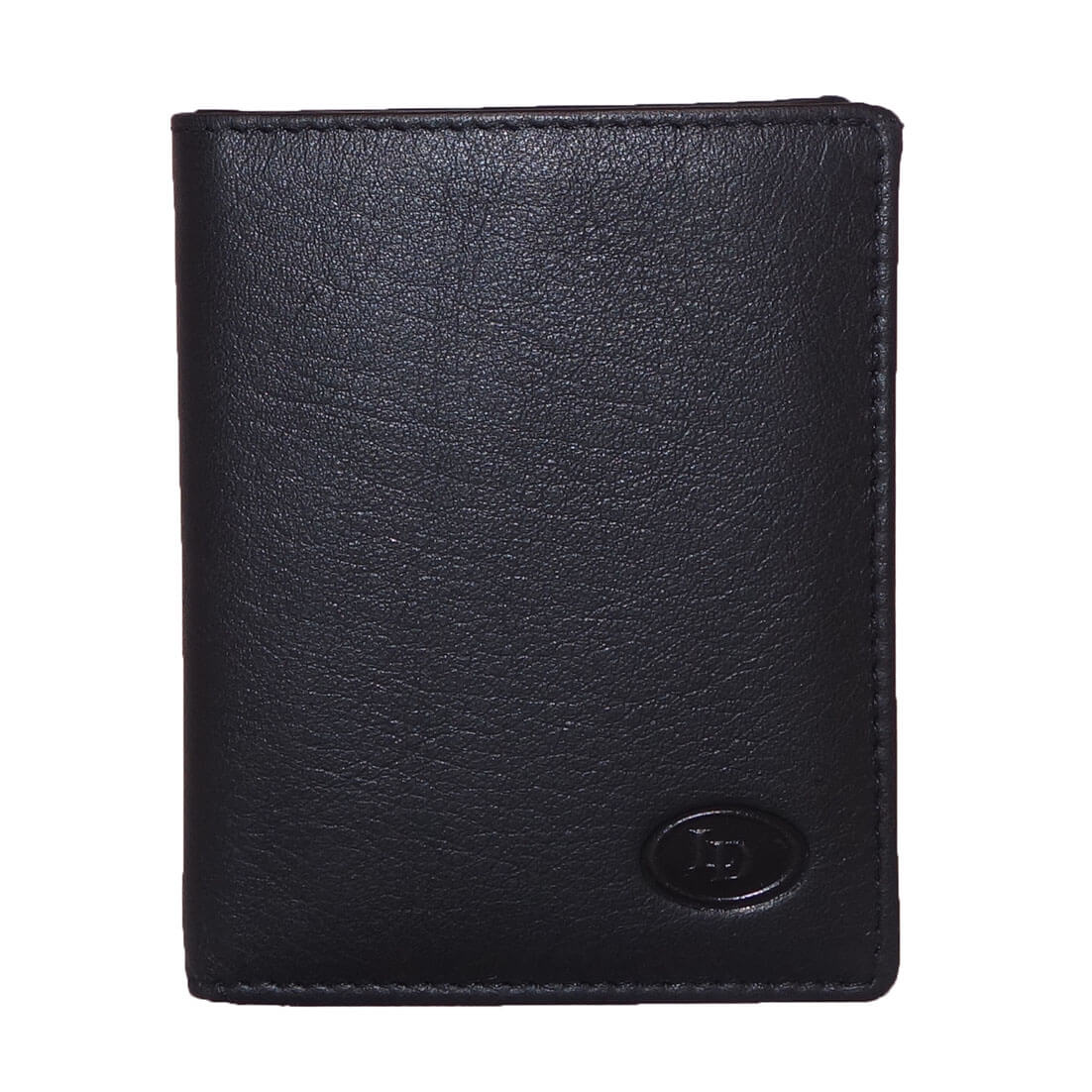 Leather Design Pasjeshouder / Portemonnee 1119 Zwart-9965