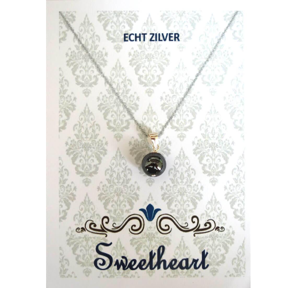 Sweethearts Bedel Stenen Bolletje Antraciet -0