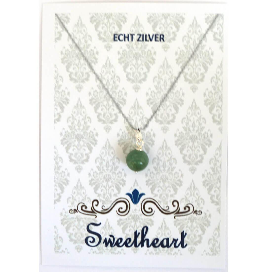 Sweethearts Bedel Stenen Bolletje Groen -0