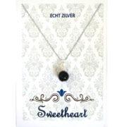 Sweethearts Bedel Stenen Bolletje Zwart