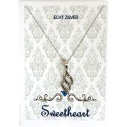 Sweethearts Bedel Fantasie met Markasiet Steentjes