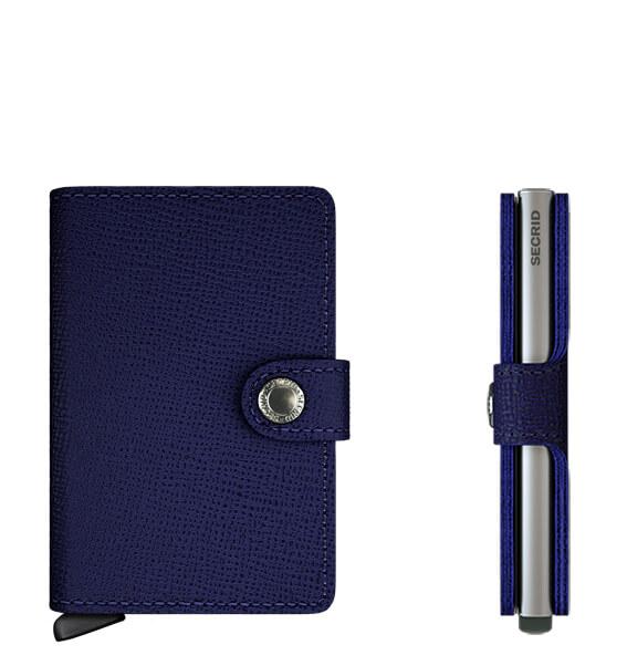 Secrid Mini Wallet Portemonnee Crisple Indigo-10861