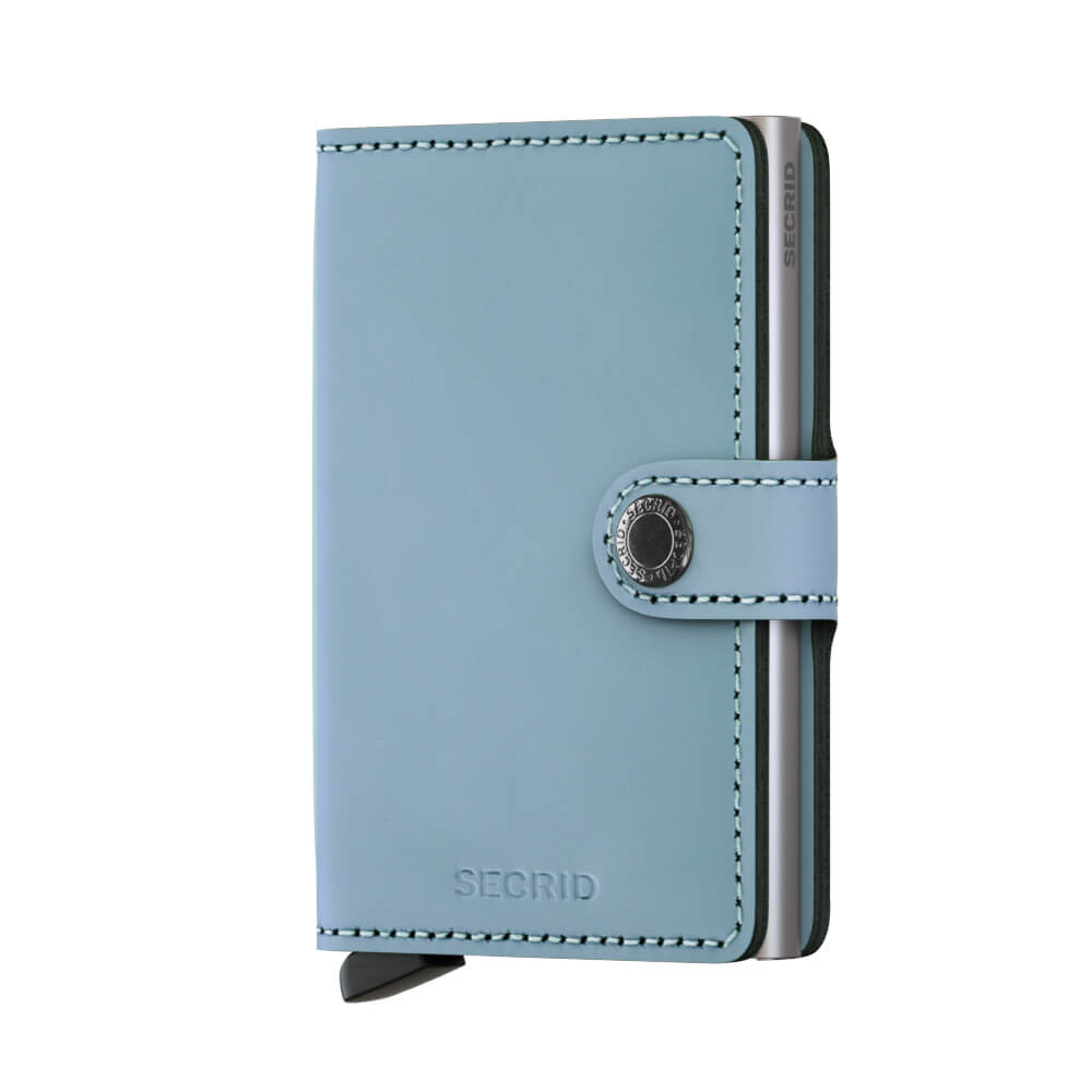 Secrid Mini Wallet Portemonnee Matte Blue-0