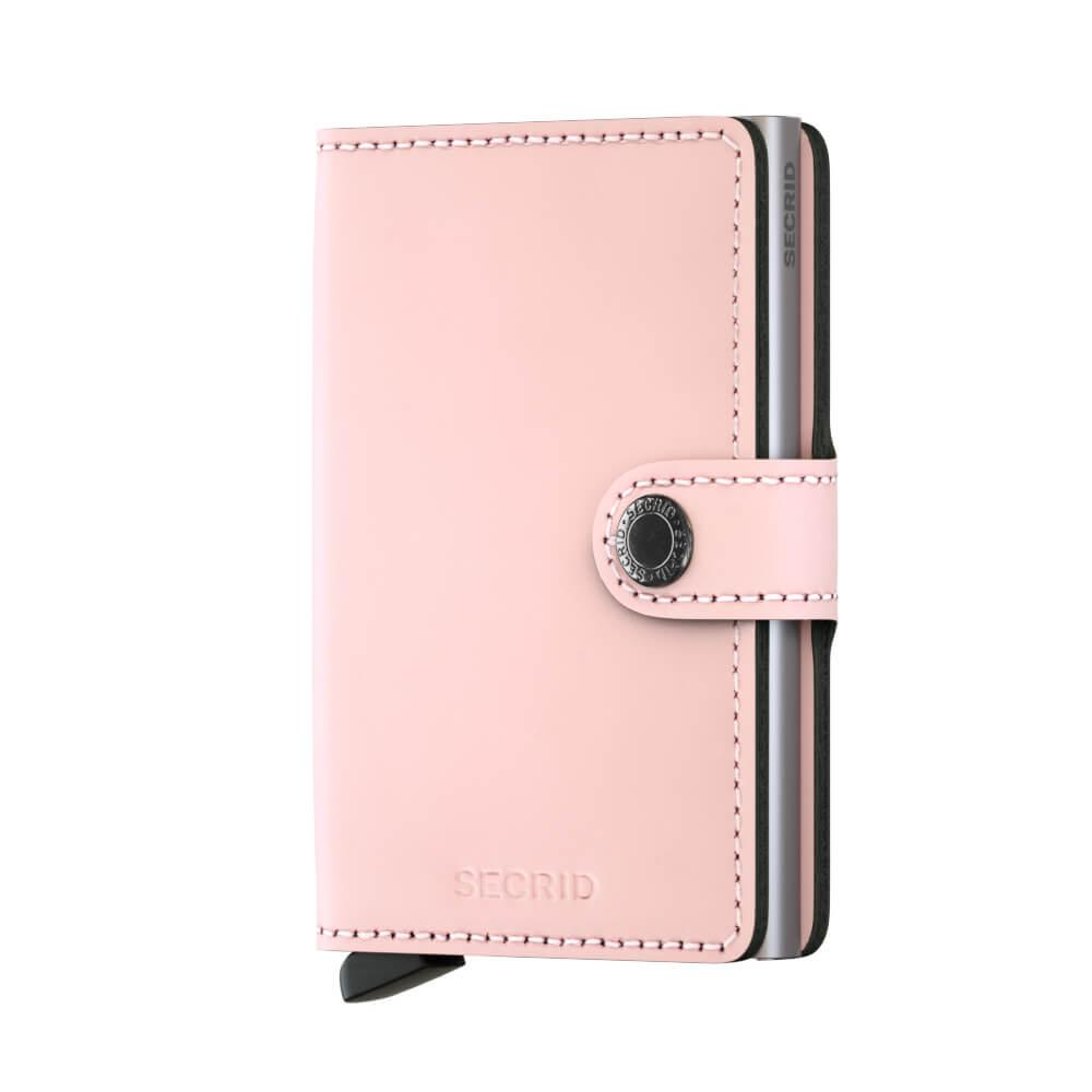 Secrid Mini Wallet Portemonnee Matte Pink-11687