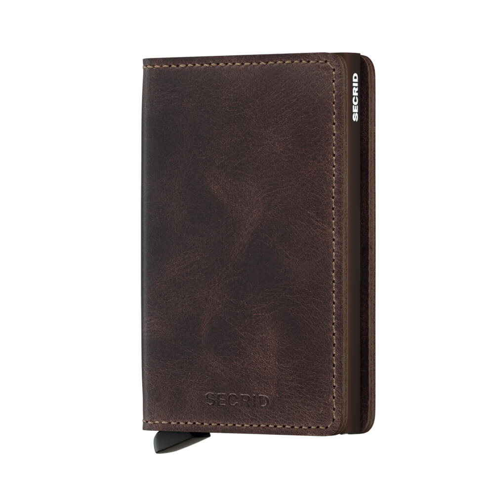 Secrid Slim Wallet Portemonnee Vintage Chocolate-11691