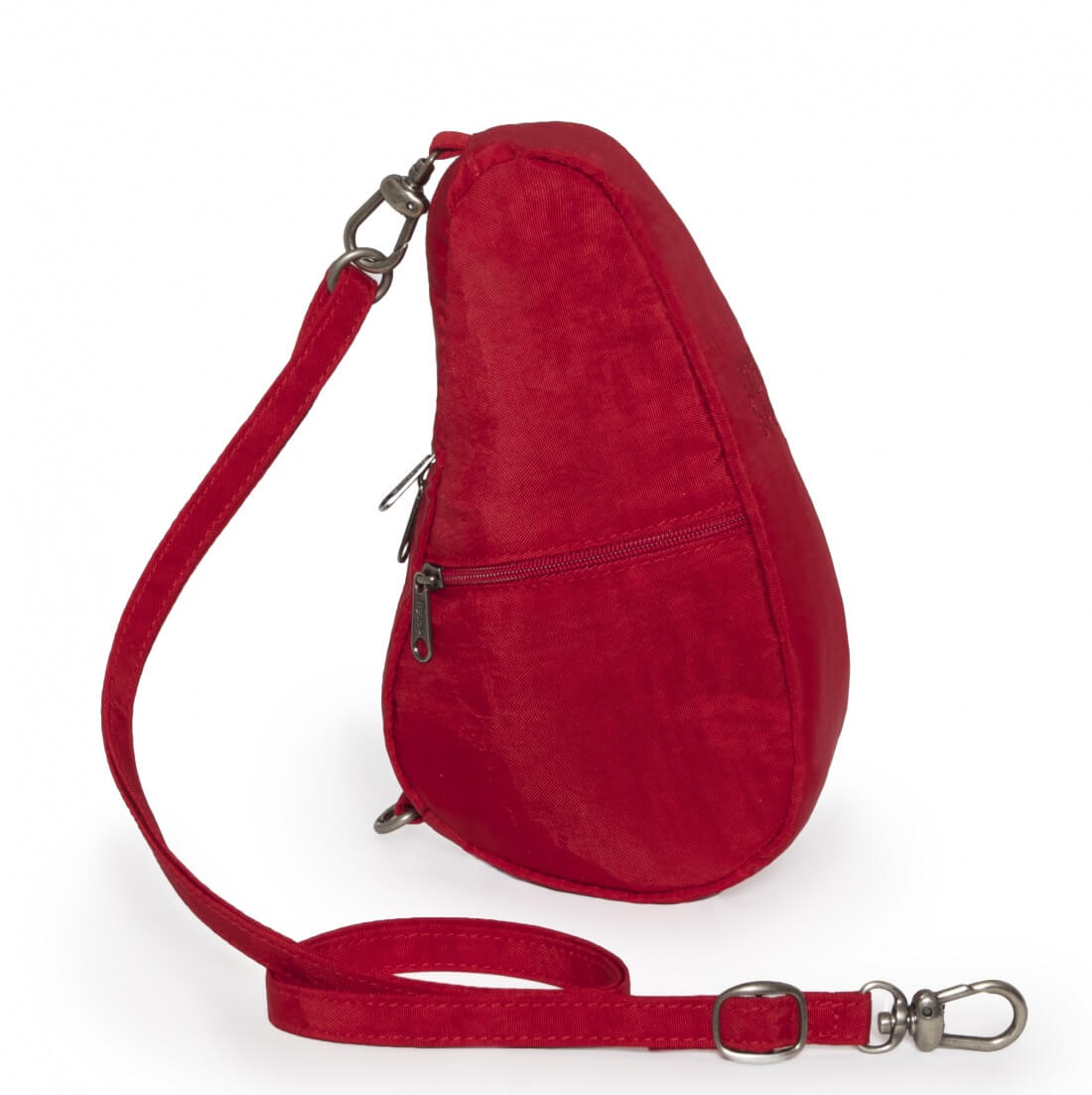 Healthy Back Bag Baglett Textured Nylon Crimson-12697