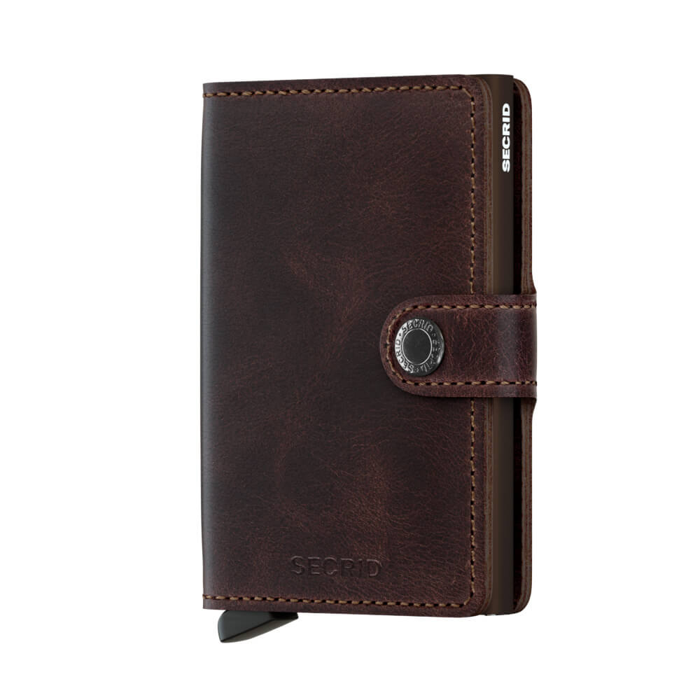 Secrid Mini Wallet Portemonnee Vintage Chocolate-0