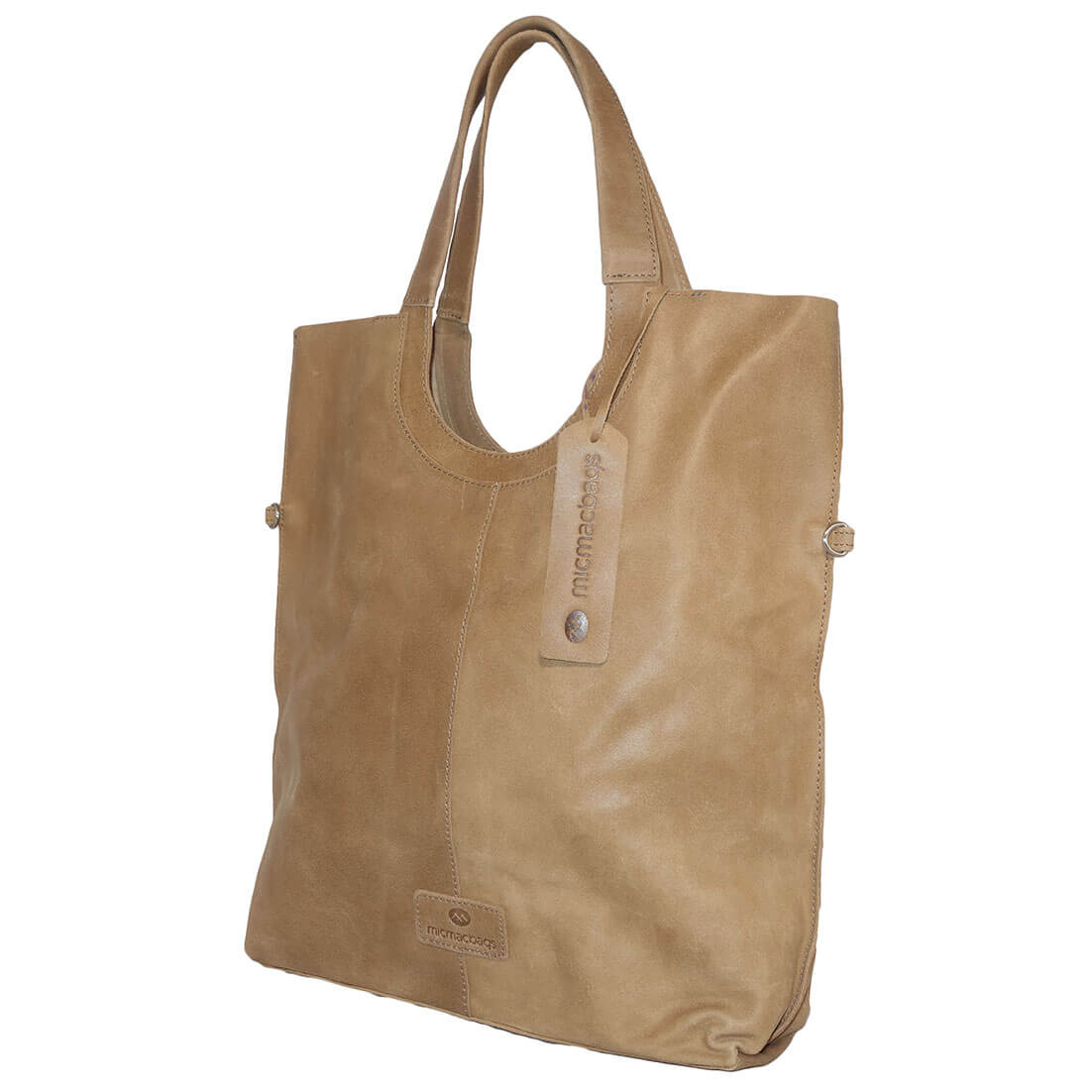 MicMacbags Shopper / Schoudertas Sand-14657