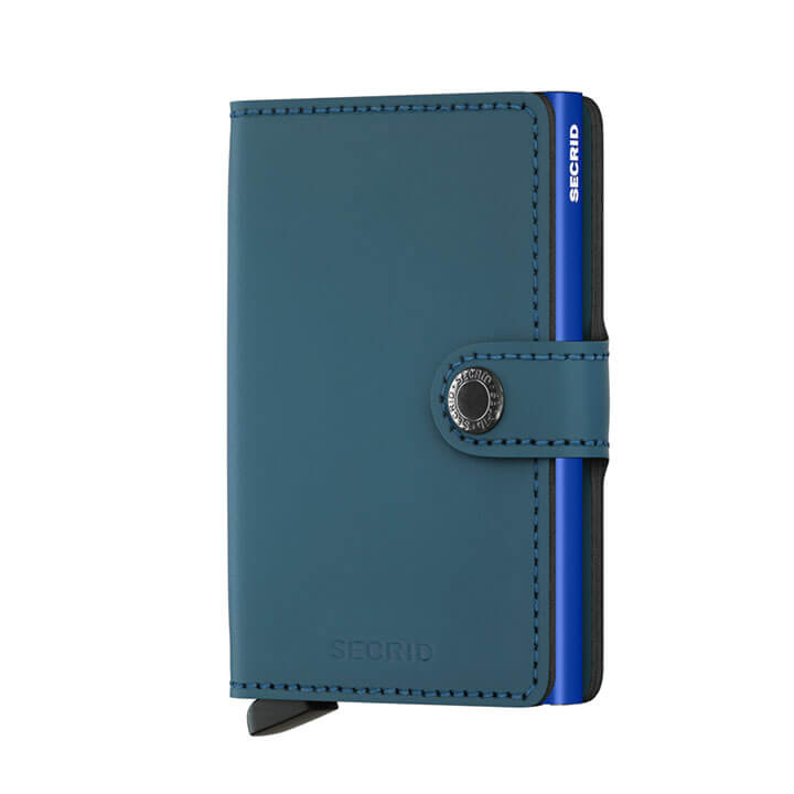 Secrid Mini Wallet Portemonnee Matte Petrol Blue