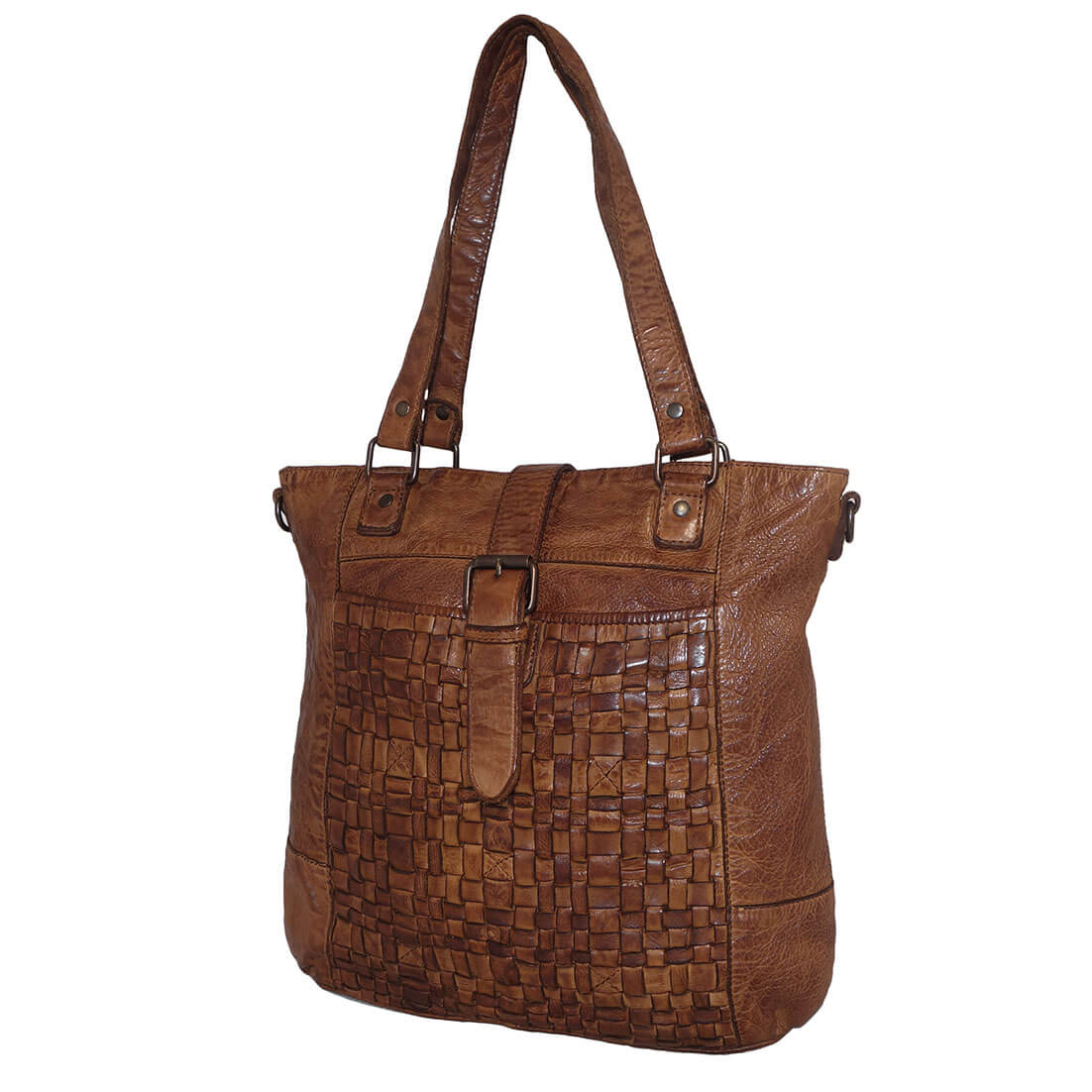 Bear Design Shopper / Schoudertas Cognac-0