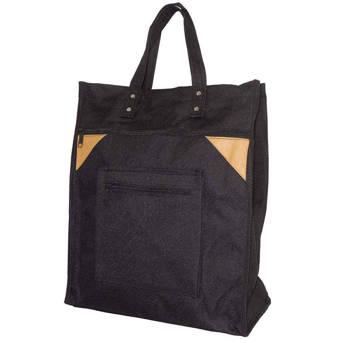 Stevige Boodschappentas Basic Zwart-14917