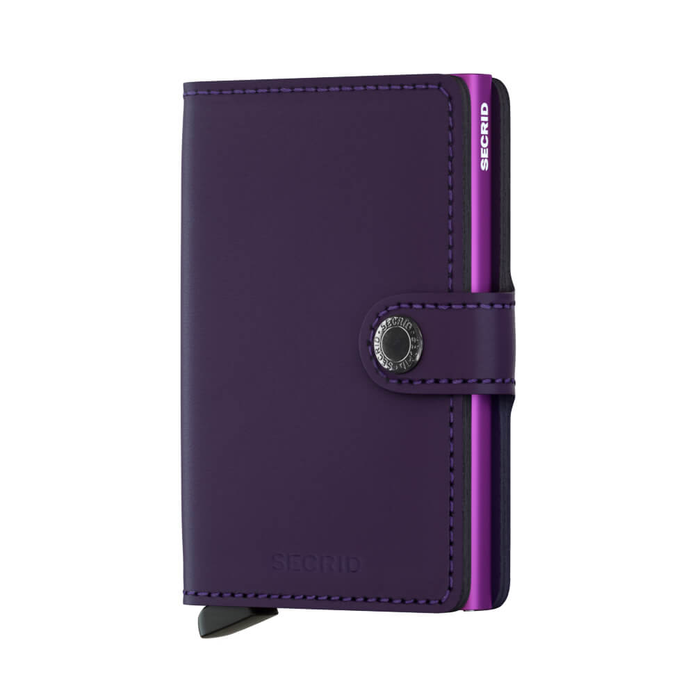 Secrid Mini Wallet Portemonnee Matte Purple-0