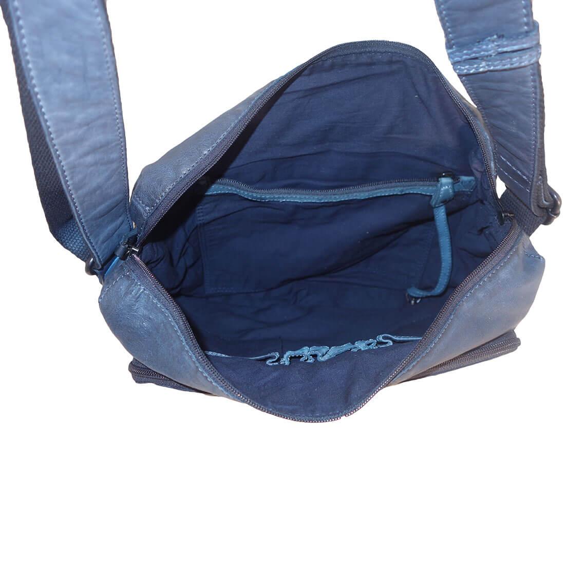 Schoudertas A4 : Voi crossover schoudertas a donkerblauw kopen