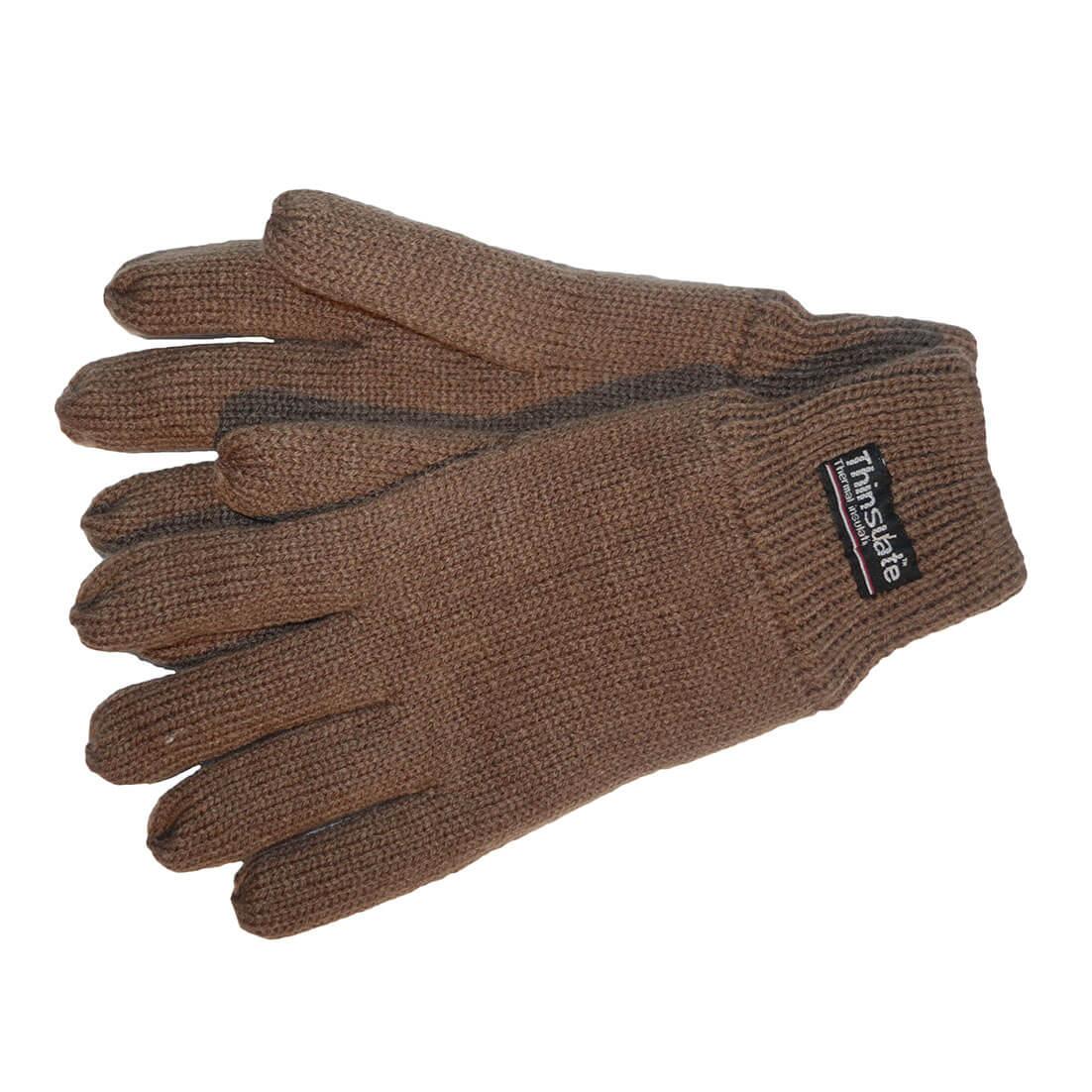 Thinsulate Handschoenen Bruin L/XL-0