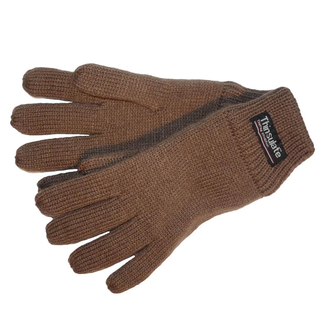 Thinsulate Handschoenen Bruin S/M-0