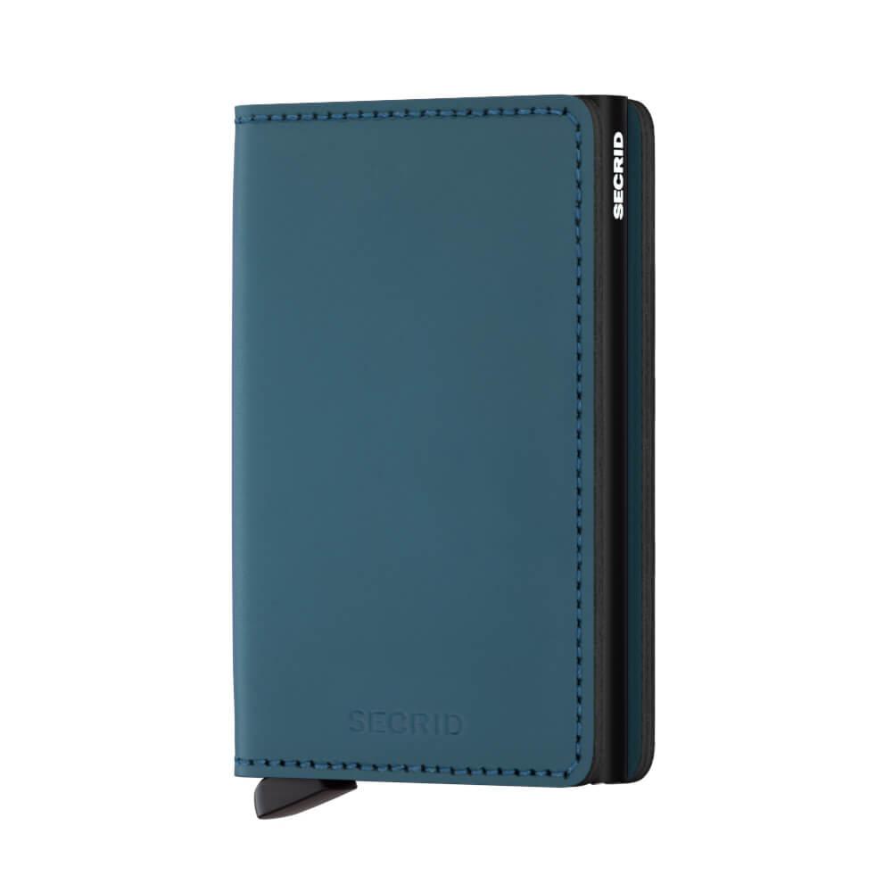 Secrid Slim Wallet Portemonnee Matte Petrol-17337