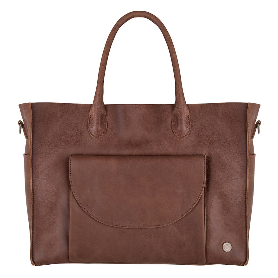 Merel by Frederiek Bowi Diaper Bag Luiertas Brownie-18408
