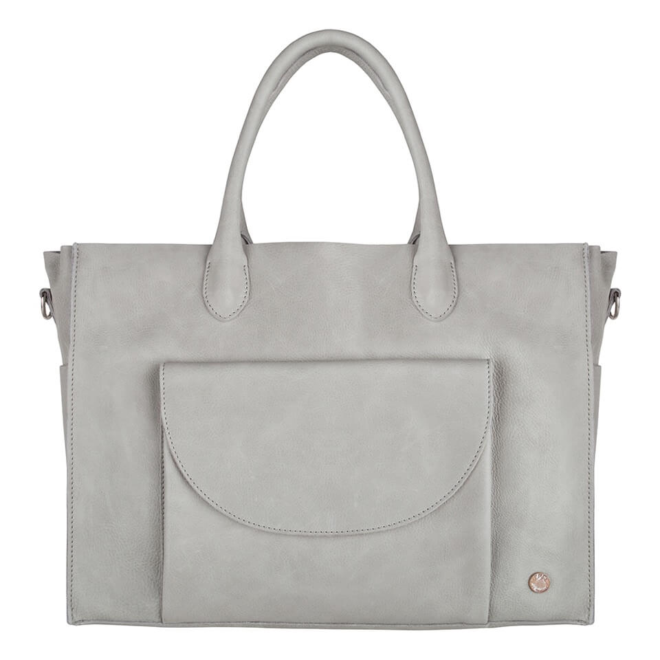 Merel by Frederiek Bowi Diaper Bag Luiertas Iced Grey-18426