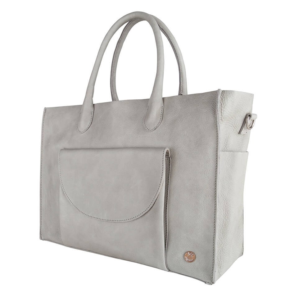 Merel by Frederiek Kate Business Bag Iced Grey-18441