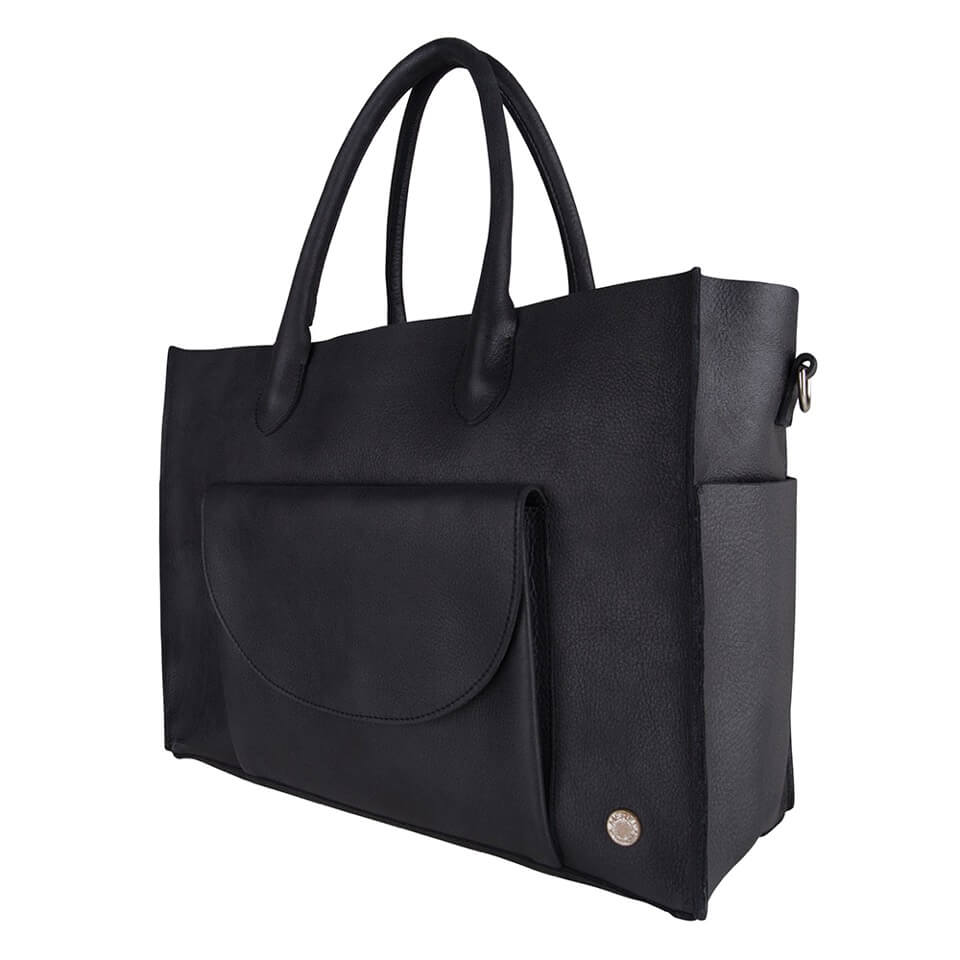 Merel by Frederiek Kate Business Bag Jet Black-18434