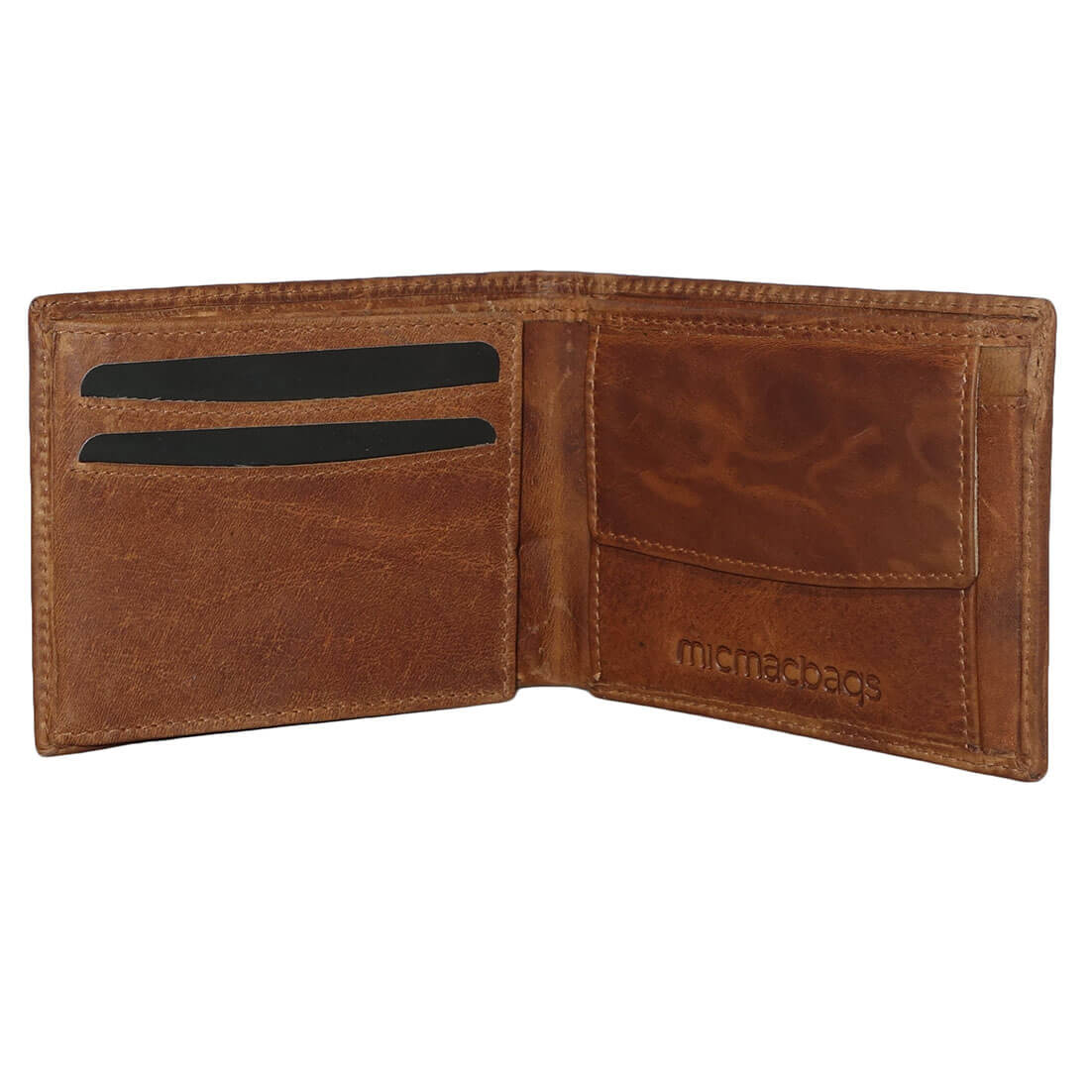 Micmacbags Faible Rfid Billfold / Cognac Bourse ObT3xMt