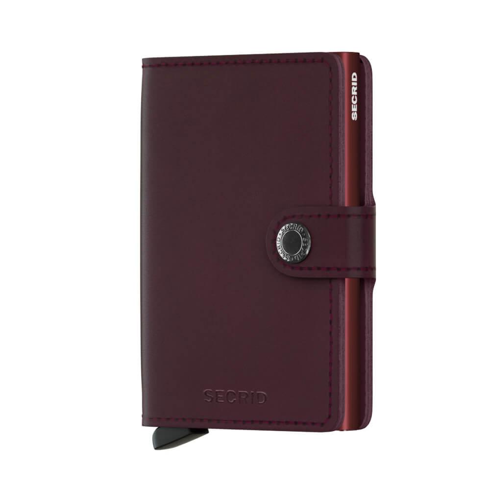 Secrid Mini Wallet Portemonnee Original Bordeaux-0