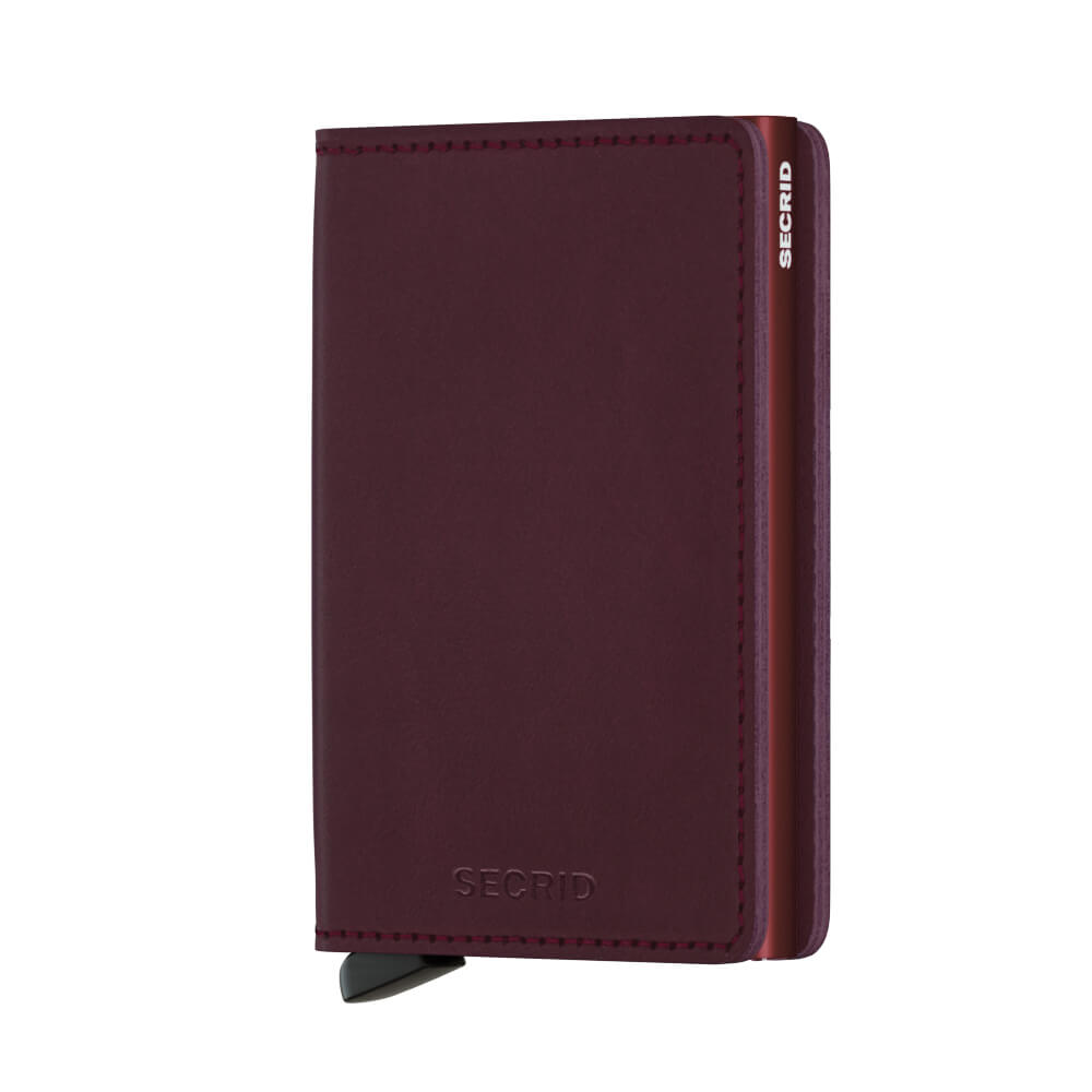 Secrid Slim Wallet Portemonnee Original Bordeaux-19909