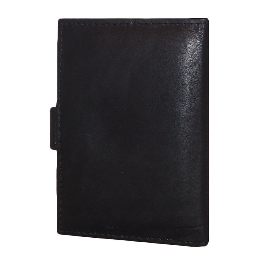 Leren Pasjeshouder Zwart-19770