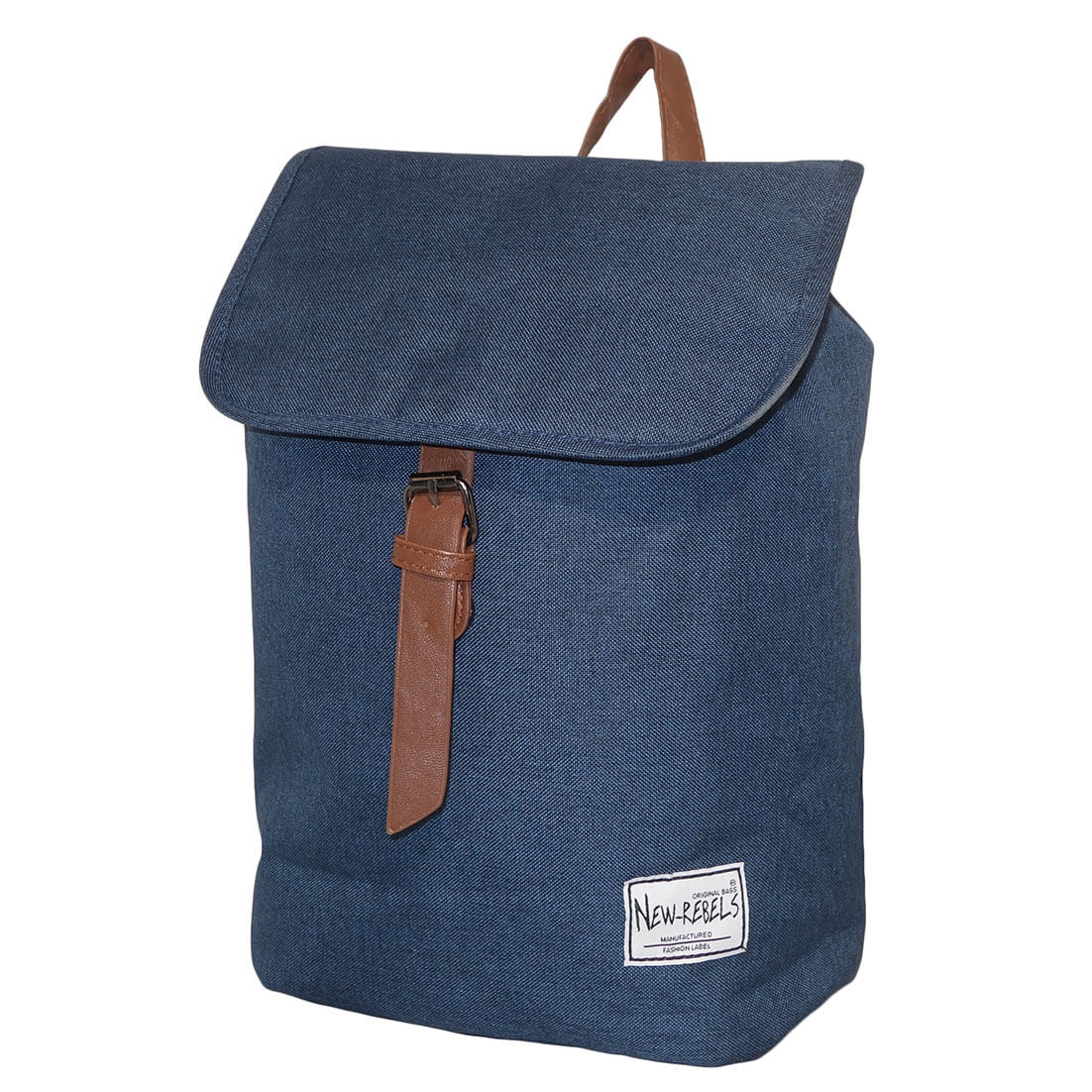 New Rebels Rugzak Basic Plus Blauw-0
