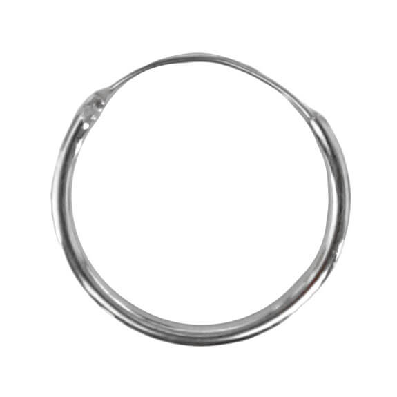 Oorring Hoops Echt Zilver 10mm-0