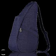 Healthy Back Bag Textured Nylon M Blue Night-21419