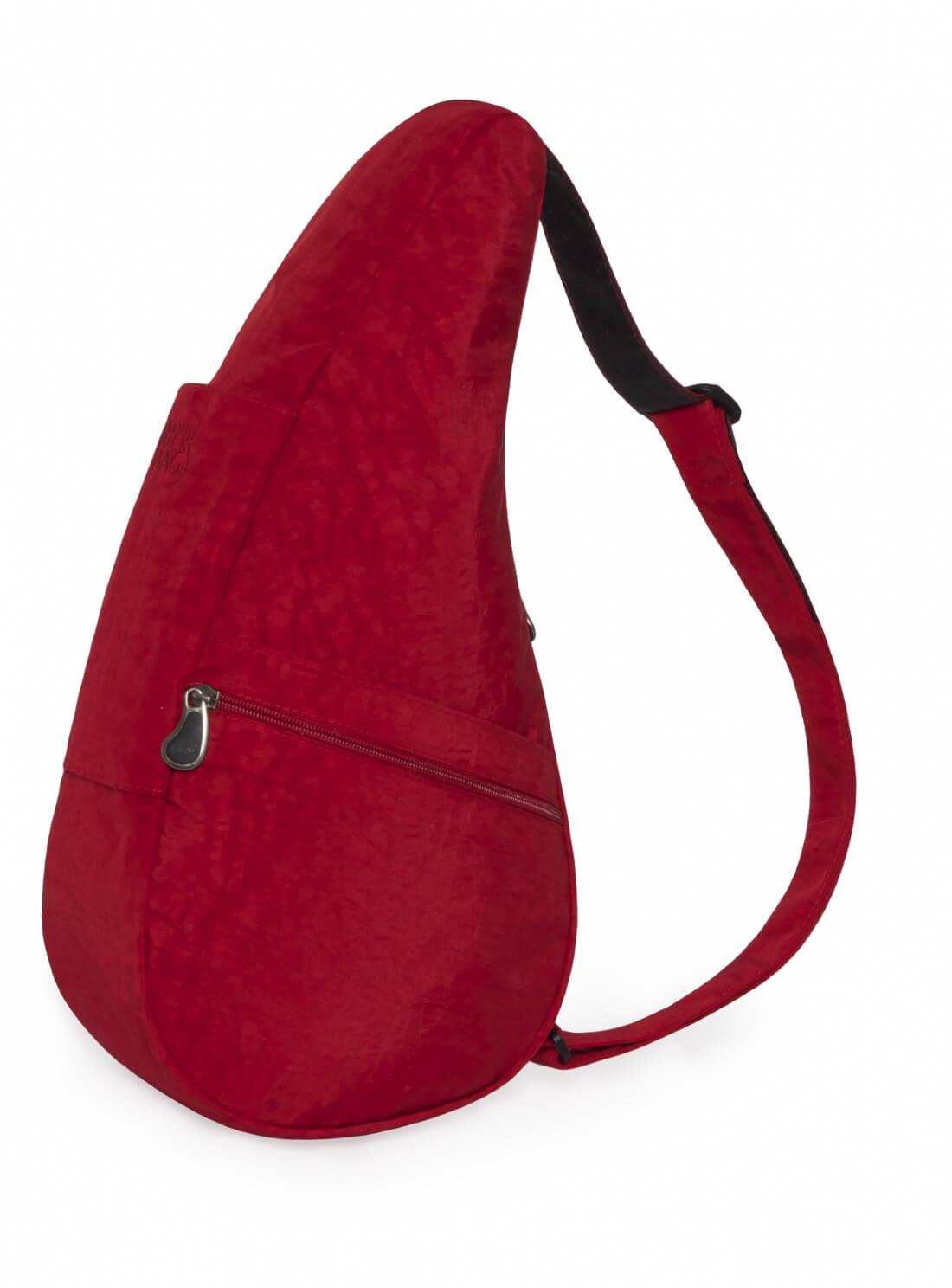 Healthy Back Bag Textured Nylon M Crimson-21415