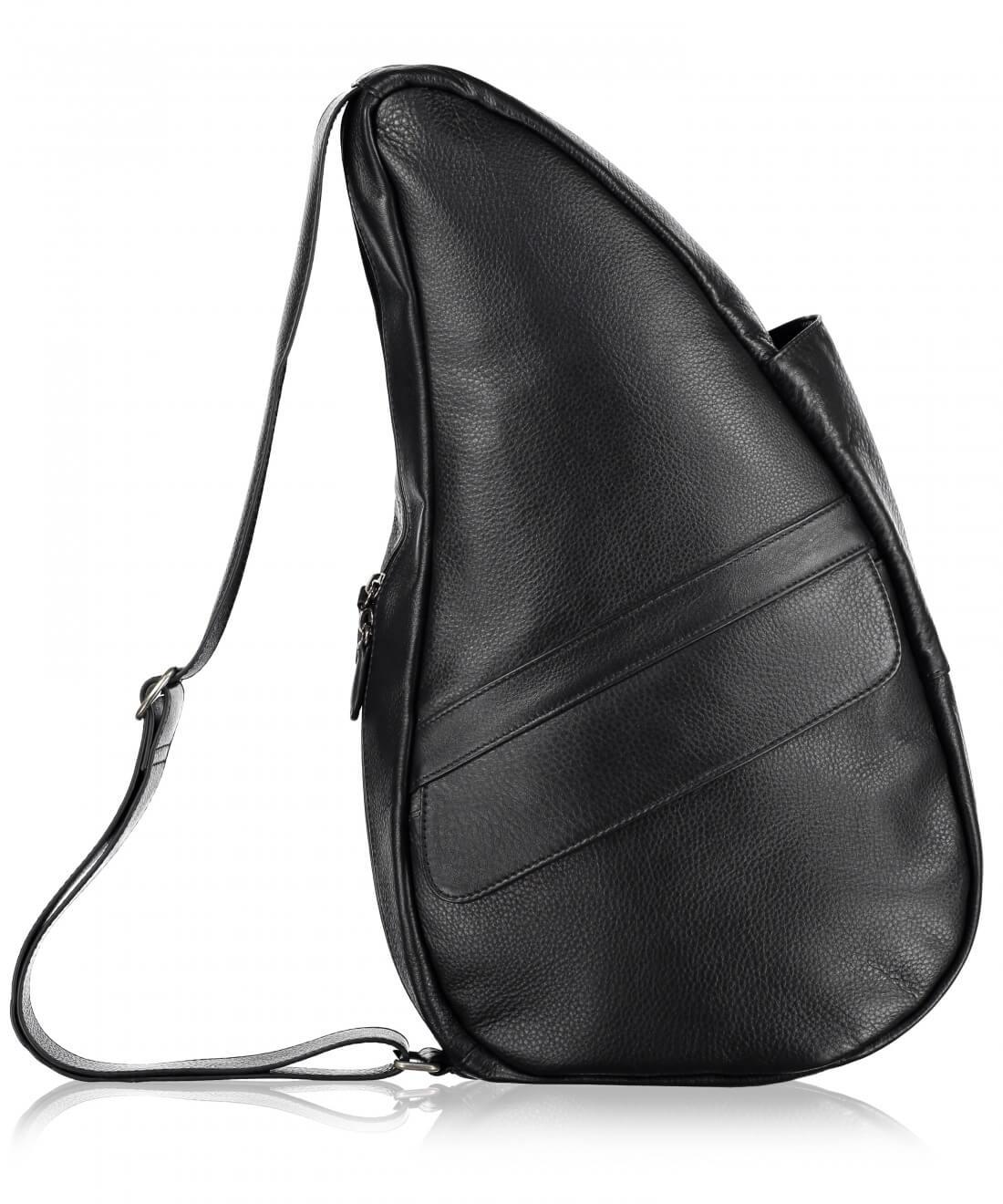 Healthy Back Bag Leather Black M-21481