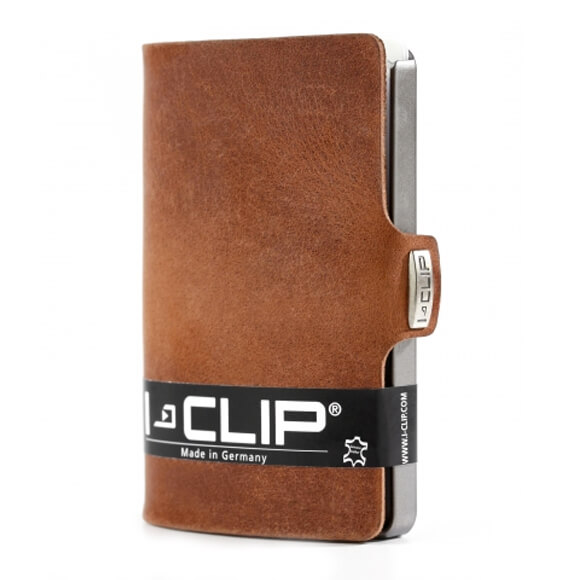 I-Clip Wallet Kaarthouder Soft Touch Oak-0