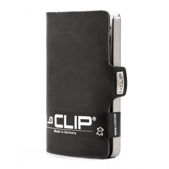 I-Clip Wallet Kaarthouder Soft Touch Zwart-0